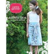 Carina Gardner Kimono Skirt Mini Pattern Size Xs-xxl