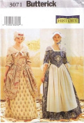 Butterick Making History Costume Sewing Pattern #3071 Misses Sizes