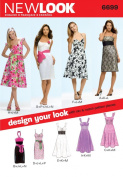 New Look Sewing Pattern 6699 Misses Dresses, Size A