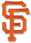 San Francisco Giants 'SF' Script Logo Patch
