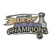 2007 NHL Stanley Cup Champions Patch Anaheim Ducks