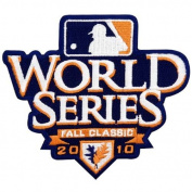 2010 World Series Logo Sleeve Patch