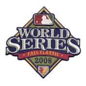 MLB 2008 World Series Logo Patch