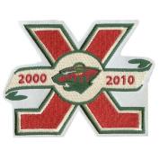 Minnesota Wild 10th Anniversary Patch