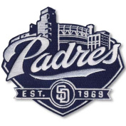 MLB San Diego Padres 2012 Secondary Logo Stadium Collectible Patch