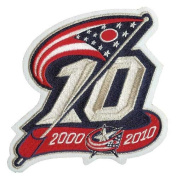 Columbus Blue Jackets 10th Anniversary Patch