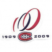 2009 Montreal Canadiens 100 Seasons Alternate Version Patch