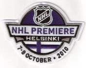 2010 NHL Premiere Game in Helsinki Jersey Patch