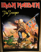 Iron Maiden The Trooper large sew-on backpatch