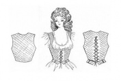 Renaissance Wench Bodice Pattern