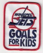 Winnipeg Jets 'Goals For Kids' Jersey Patch