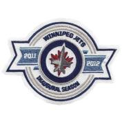 Winnipeg Jets Inaugural Season Logo Patch