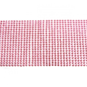 AllyDrew Pink Crystal Diamond Sticker 4mm Adhesive Rhinestones, 1000 pieces