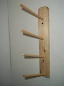 Wood Storage Rack Ribbon 4 Rolls Curling Spool Storage Organise