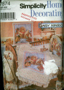 Simplicity Home Daisy Kingdom Nursery Accessories Sewing Pattern 7674