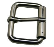 Amanaote Metal Silvery 3.2cm Inside Length Rectangle Buckle Handbag Buckle