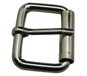 Amanaote Metal Silvery 3.2cm Inside Length Rectangle Buckle Handbag Buckle