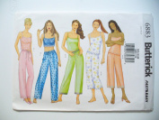 Butterick Sewing Pattern 6883 Fast & Easy Misses'/Misses' Petite Camisole & Pants Size