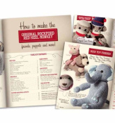 Fox River Mills Sock Monkey and Friends Pattern Book