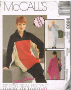 McCall's 9693 Top and Pull-On Pants Pattern