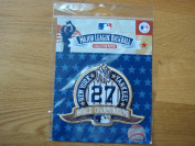 MLB New York Yankees 27th Championship Collectible Patch