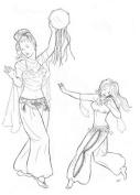 Hathaya's Harem Pants Pattern