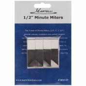 Martelli Minute Mitre, 1.3cm , 4/Pkg