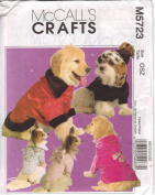 McCall's Patterns M5723 Elegant Pet Coats, All Sizes