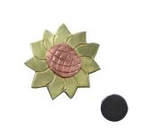 Sunflower Needle Nanny Magnetic Needle Minder, Brooch