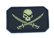 King Arms Seal Team withhook and looppatch - Black