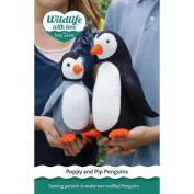 Betz White Poppy And Pip Penguins Pattern