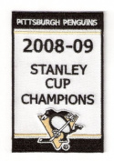 2009 Pittsburgh Penguins Stanley Cup Champions Banner Patch