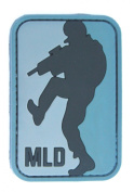 Major League Doorkicker (MLD hook and loop Patch - ACU Dark