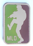Major League Doorkicker (MLD hook and loop Patch - Arid