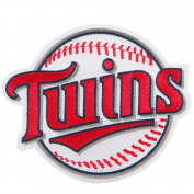 Minnesota Twins Secondary Round Ball Team Logo Patch