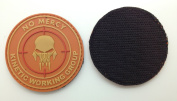 No Mercy Kinetic Working Group PVC IFFhook and loopMorale Patch Orange