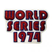 World Series A'S 1974 MLB Logo Patch