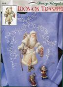 Daisy Kingdom Nostalgic Christmas Collection Russian Santa Iron-On Transfer