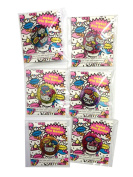 Hello Kitty Metal Pins Badges Set of 6 Pc