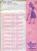 Stretch & Sew Pattern 1535 ~ Ladies' Jumper ~ Bust 28-42