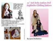 Highlander Doll clothing for 70cm Soft Body Pattern