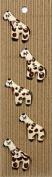 Ceramic Buttons - Giraffe Style 259