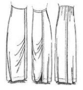 Ladies' Hobble-skirt Pattern