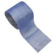 Tiffany Blue Diamond Rhinestone Mesh Ribbon, Wedding Ribbon, Nappy Cake Ribbon, 12cm x 10 Yards, 24 Row, 1 Roll