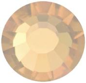 Mode Beads Preciosa Crystal Rhinestone Flatbacks, Lt. Colorado Topaz