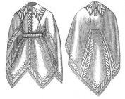 1871 Bleted Mantle Pattern