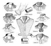 Late Victorian Collars and Cuffs Sewing Pattern