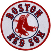 MLB Boston Red Sox Embroidered Circle Logo Collectible Patch