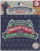 2014 Chicago Cubs Wrigley Field's 100th Anniversary MLB Season Jersey Sleeve Patch