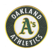 Oakland A's Athletics Primary Team Logo Patch Jersey Sleeve